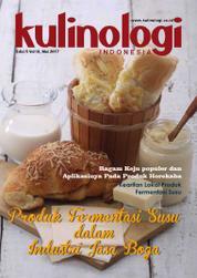 Cover Majalah KULINOLOGI INDONESIA / MAY 2017