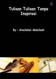 Cover Tulisan-tulisan Tanpa Inspirasi oleh