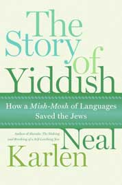 Cover The Story of Yiddish oleh