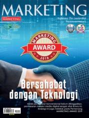 Cover Majalah MARKETING September 2019