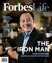 Cover Majalah Forbes Life / ED 15 JUL 2018