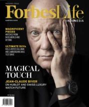 Cover Majalah Forbes Life / ED 19 AUG 2019