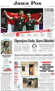 Jawa Pos / 26 AUG 2019