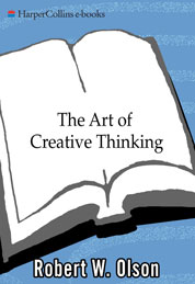 Cover The Art of Creative Thinking oleh