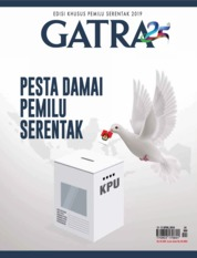 Cover Majalah GATRA ED 24 April 2019