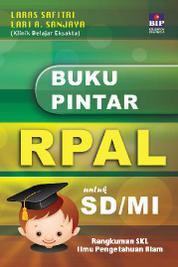Cover Buku Pintar RPAL untuk SD/MI oleh