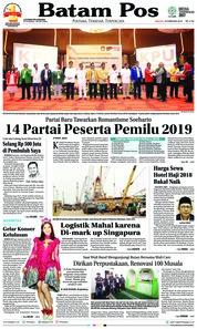 Batam Pos / 18 FEB 2018