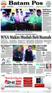 Batam Pos / 24 APR 2018