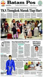 Batam Pos / 27 APR 2018