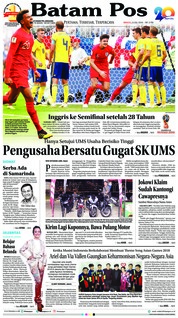 Batam Pos / 08 JUL 2018