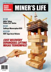 Cover Majalah MINER'S LIFE / ED 30 AUG 2016