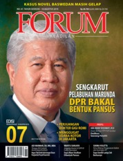Forum Keadilan Magazine Cover ED 07 August 2019