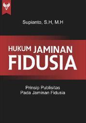 Cover Hukum Jaminan Fidusia oleh