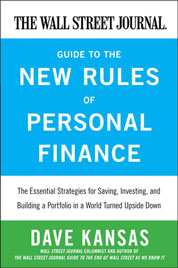 Cover The Wall Street Journal Guide to the New Rules of Personal Finance oleh