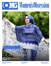 Cover Majalah Women's Obsession / ED 43 SEP 2018