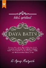 Cover Kitab Spiritual Daya Batin oleh