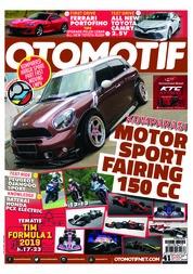 Cover Majalah OTOMOTIF ED 41 Februari 2019