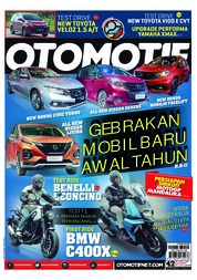 Cover Majalah OTOMOTIF ED 42 Maret 2019