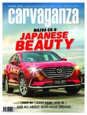 Cover Majalah carvaganza / MAR 2018