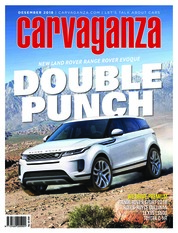 Carvaganza / DEC 2018 Magazine Cover