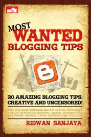 Cover Most Wanted Blogging Tips oleh