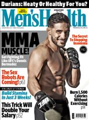 Cover Majalah Mens Health Singapore / JUL 2016