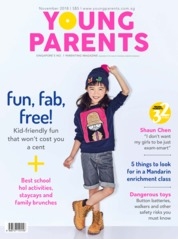 young parents Singapore / NOV 2018