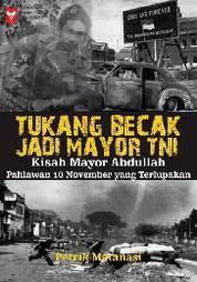 Cover Tukang Becak Jadi Mayor TNI oleh