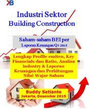 Cover Industri Real Estate Developer Saham-saham BEI per Laporan Keuangan Q3 2015 oleh