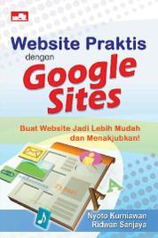 Cover Website Praktis dengan Google Sites oleh