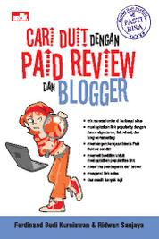Cover CARI DUIT DENGAN PAID REVIEW DAN BLOGGER oleh