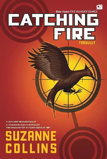 Hunger Games #2: Catching Fire - Tersulut by Cover