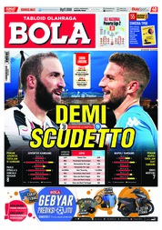 Tabloid Bola Sabtu / ED 2863 APR 2018