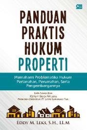Cover Panduan Praktis Hukum Properti oleh