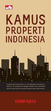 Cover Kamus Properti Indonesia oleh