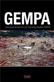 Cover Gempa, Kumpulan Artikel Ilmu & Teknologi Majalah Tempo oleh