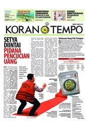 Koran TEMPO / 26 APR 2018