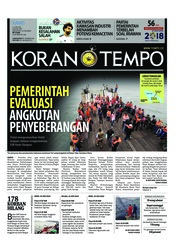 Koran TEMPO / 21 JUN 2018