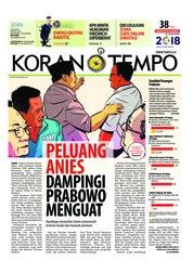 Koran TEMPO / 09 JUL 2018