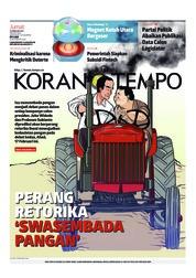 Koran TEMPO / 15 FEB 2019