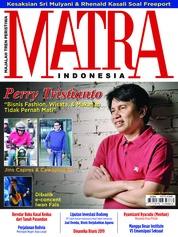 Cover Majalah MATRA INDONESIA / JAN 2019