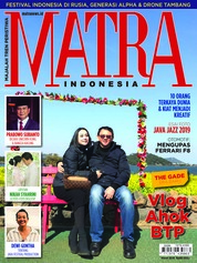 Cover Majalah MATRA INDONESIA / MAR 2019
