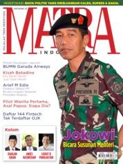 Cover Majalah MATRA INDONESIA / MAY 2019
