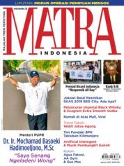 Cover Majalah MATRA INDONESIA / AUG 2019