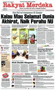 Rakyat Merdeka / 15 FEB 2019
