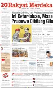 Rakyat Merdeka / 22 APR 2019