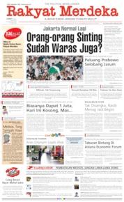 Rakyat Merdeka / 24 MAY 2019