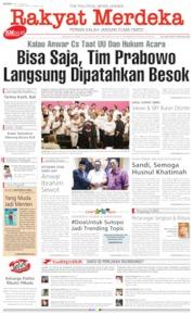 Rakyat Merdeka / 17 JUN 2019