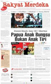 Rakyat Merdeka / 21 AUG 2019
