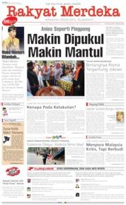 Rakyat Merdeka / 26 AUG 2019